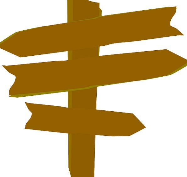 Pics For > Blank Wooden Sign Post