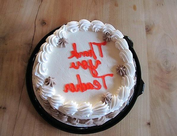 Thankful Grateful Bar Dessert Pudding Cake Sweet S