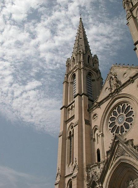 France Ecclesiastical Nimes Church South Of France