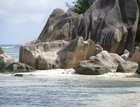 Seychelles Landscapes Nature Sea Marine La Digue I