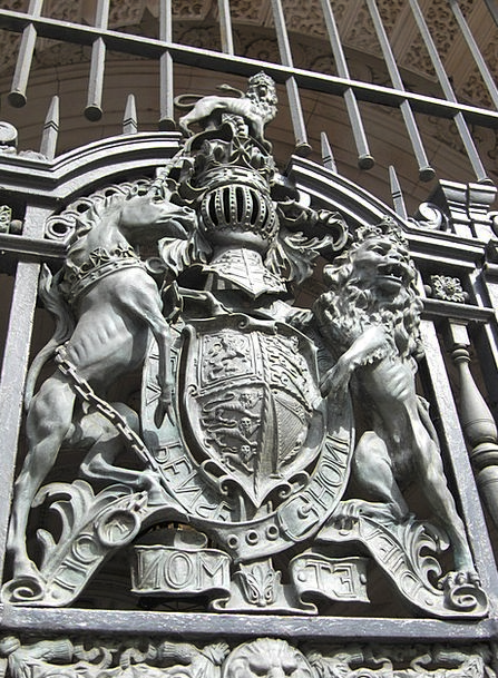 Coat Of Arms Crest England London United Kingdom B