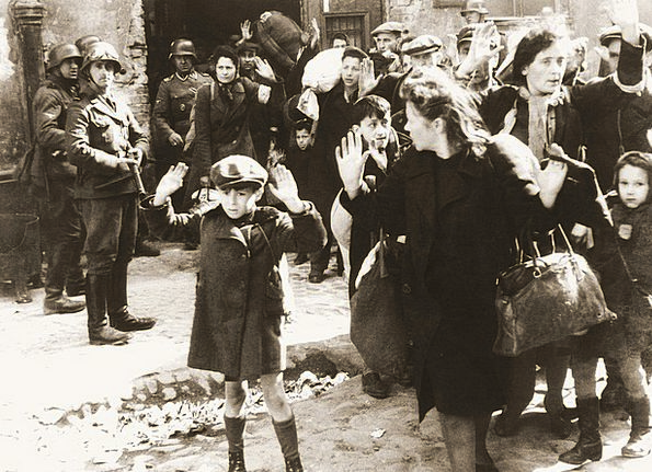 Ghetto Fear Terror Warsaw Nazi Child Youngster Wwi