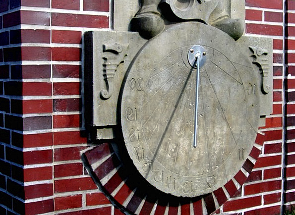 Sundial Sun Time Of Pointer Cane Old Clock Ancient