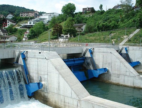 Swim Dip Buildings Architecture Limmat Power Plant