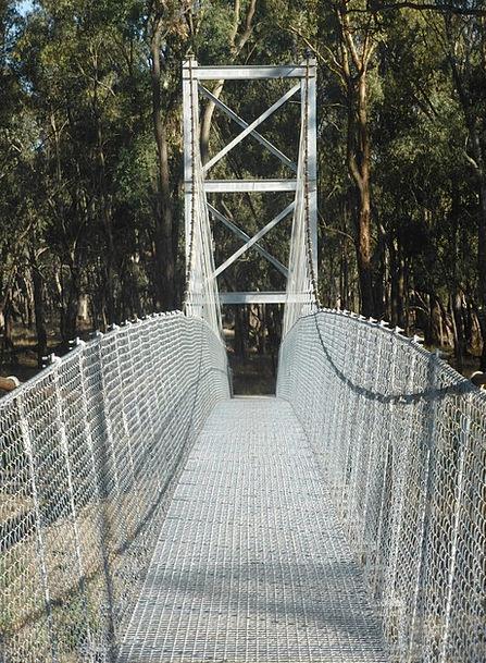 Swing Bridge Suspension Bridge Viaduct Pedestrian