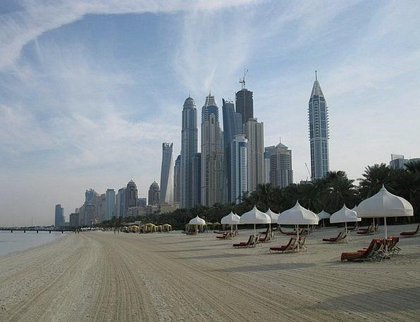 Dubai Vacation Towers Travel High Rises Skyscraper