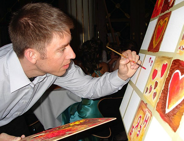 Painter Image Brush Encounter Painting Artists Dra