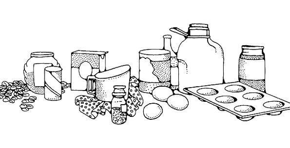 Cooking Ingredients Bread Ingredients Receipe Flou