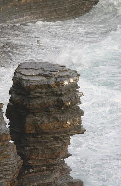 Sea Marine Landscapes Pillar Nature Biarritz Rock