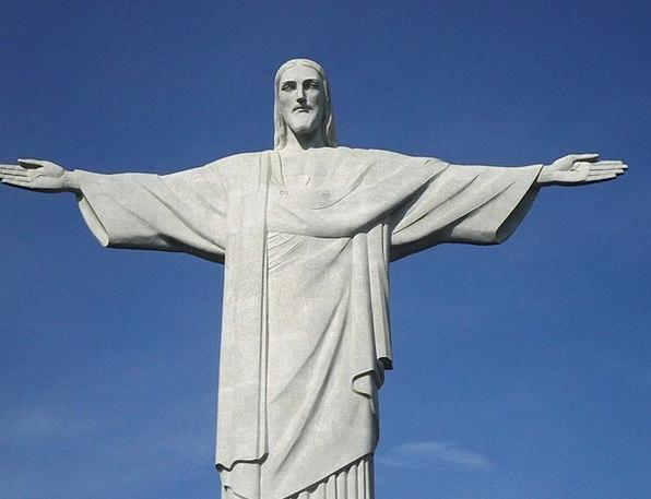 Statue Figurine Christ The Redeemer Christ Corcova