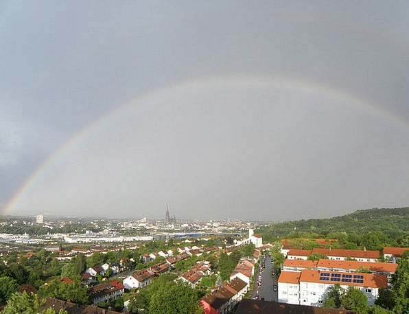 Ulm Multicolored Outlook Viewpoint Rainbow