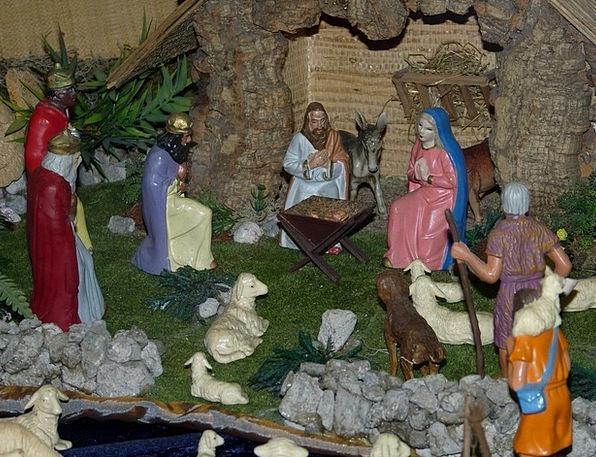 Crib Cheat Advent Arrival Christmas Christmas Deco