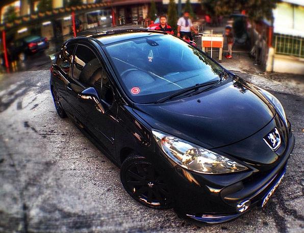Peugeot Black Dark Arba 207 Gt