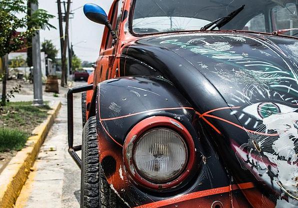 Beetle Insect Traffic Germ Transportation Vw Bug M