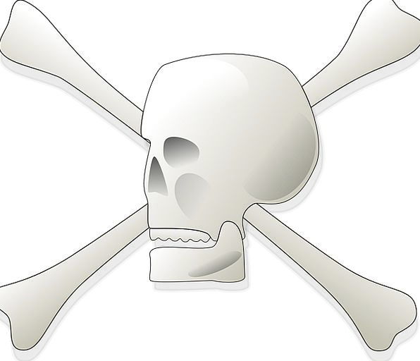 Skull Mind Frames Poison Fatal Bones Signs Death D