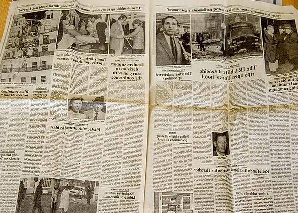 Newspaper Paper Important Photos Photographs Histo