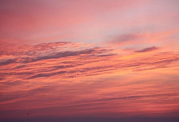 Sky Blue Vacation Sundown Travel Evening Twilight