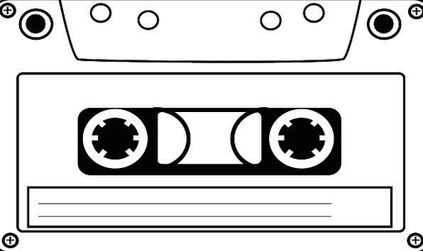 Cassette Case Adhesive tape Audio Acoustic Tape Ol