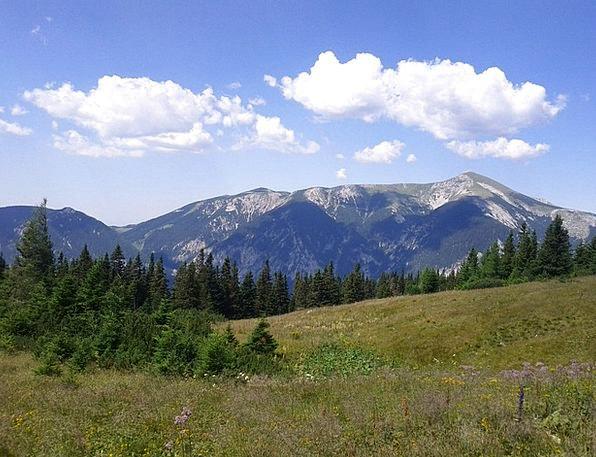 Snow Mountain Landscapes Nature Mountain Crag Rax