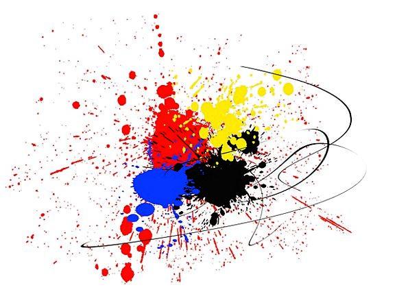 Embroidery Sampler Bit Color Hue Dab Spray Sprig C