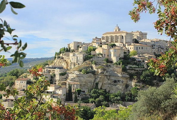 Gordes Landscapes Community Nature Provence Villag
