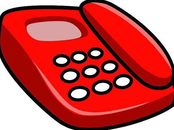 Telephone Communication Bloodshot Computer Telecom