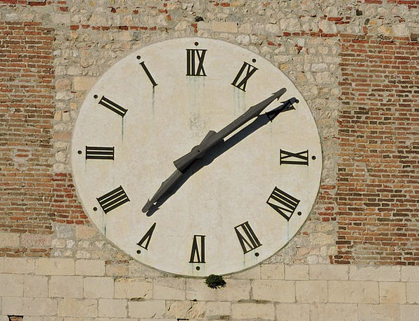 Watch Timepiece Abbey Cloister Campanile Villanova