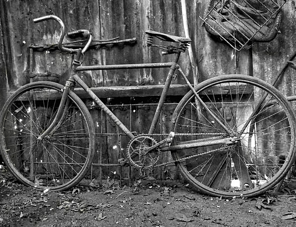 Bicycle Ancient Bike Motorbike Old Transportation