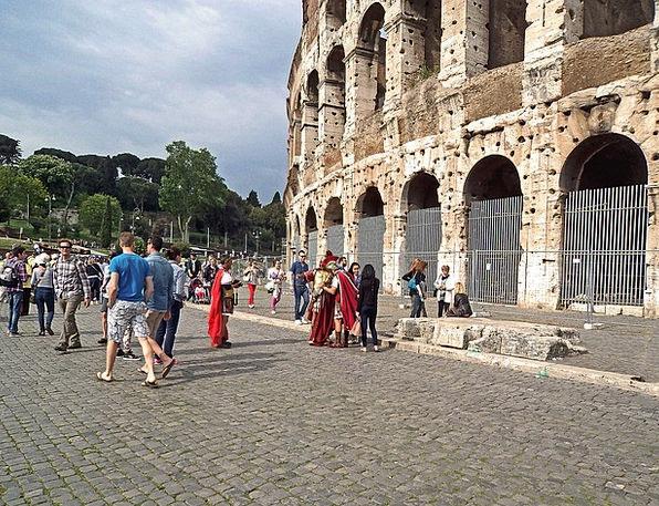 The Coliseum Public Guards Protectors People The L