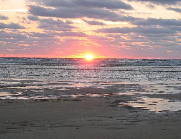 Sunset Sundown Vacation Seashore Travel Sea Marine