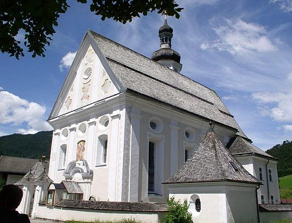 Church Ecclesiastical Chiemgau Bavaria L Rank Summ