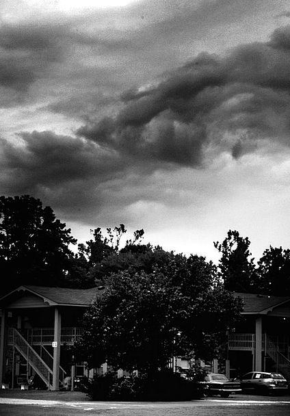 Hurricane Tempest Clouds Vapors Storm Overcast Sky
