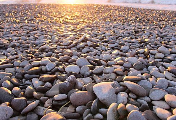 Pebble Stone Vacation Centers Travel Beach Seashor