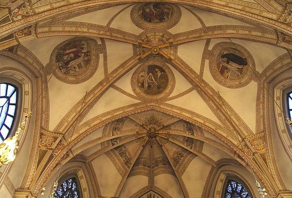 Church Ecclesiastical Maximum Ornament Ceiling Dom