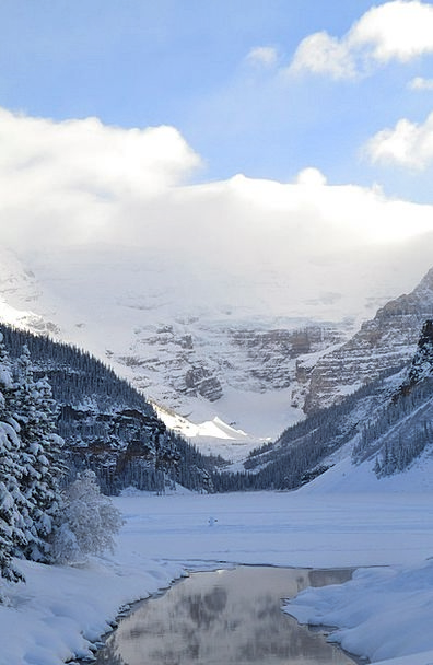 Lake Louise Landscapes Nature See Understand Canad