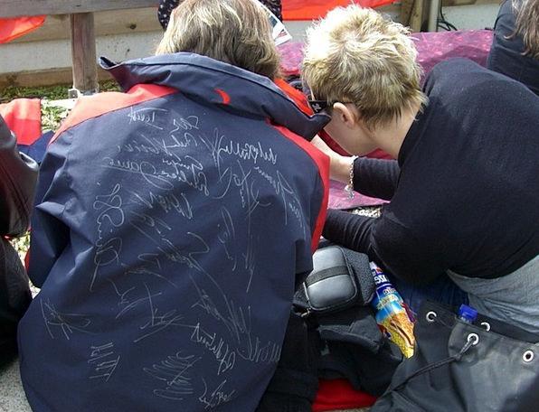 Autograph Hunters Admirer Autograph Signature Fan