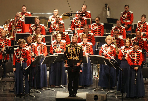 Orchestra Performance Presentation Military Orches