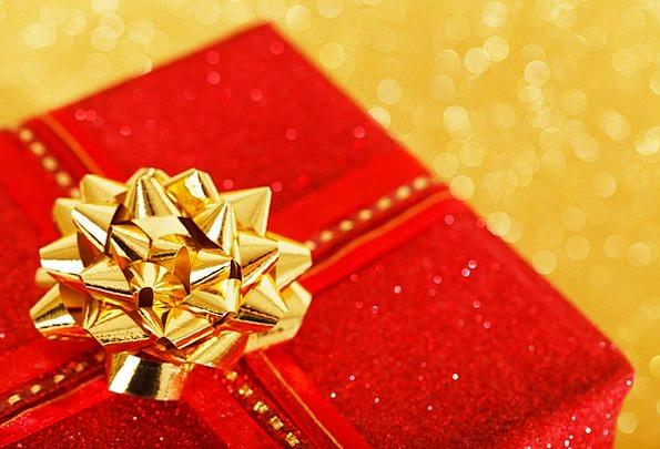 Christmas Box Festivity Christmas Celebration Glit