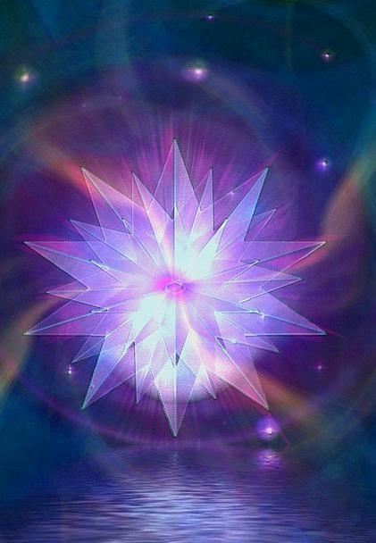 Kristal Interstellar Crystal Mineral Star Fantasy