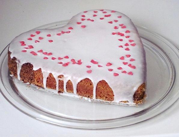 Cake Bar Emotion Love Cake Heart Baked Goods Heart