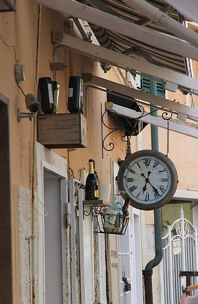 Clock Timepiece Flasks Deco Bottles Old Ancient Wi