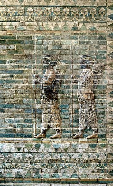 Frieze Decoration Frontage Archers Facade Louvre W