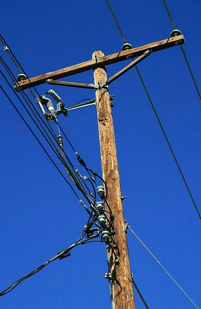 Power Control Opposite Electricity Pole Utility Us