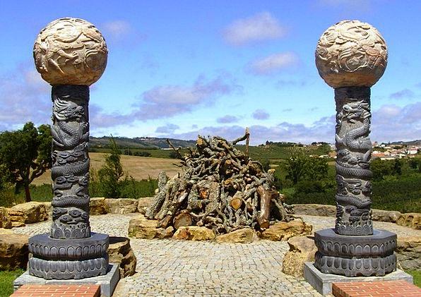 Buddhist Faith Temple Shrine Religion Portugal Bud