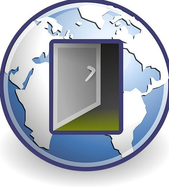 Network Net Communication Departure Computer Logou
