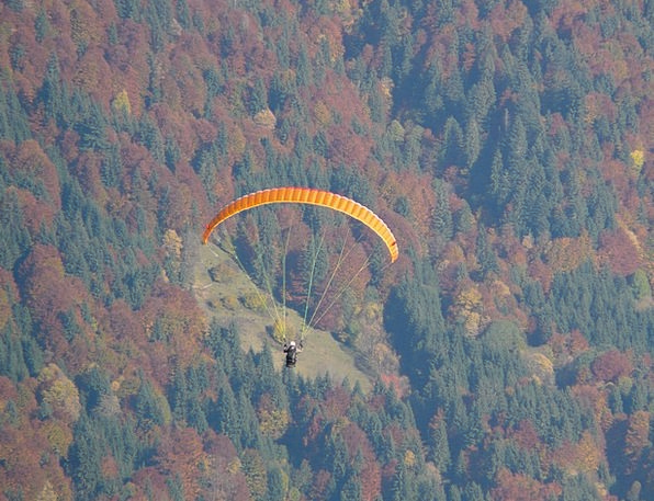 Paraglider Landscapes Hover Nature Flight Aeronaut