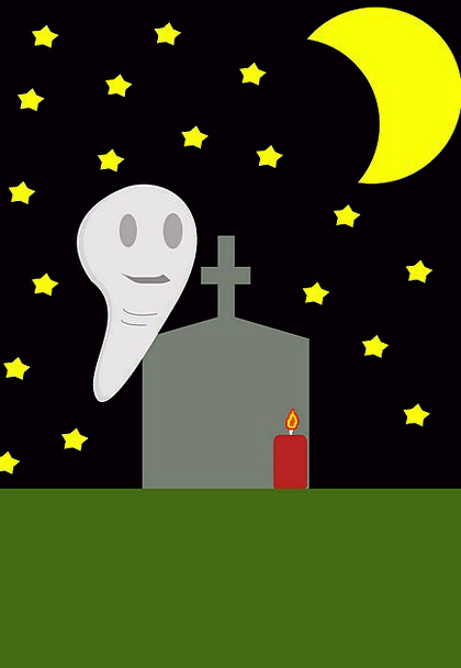 Halloween Flicker Horror Ghost October Night Night