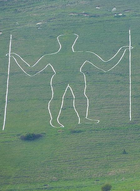 Long Man Of Wilmington Wilmington Hill Figure East