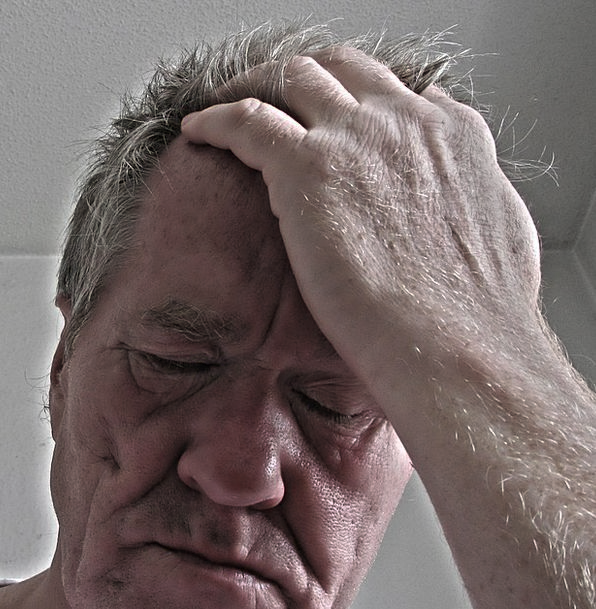 Stress Pressure Gentleman Hand Pointer Man Psychol