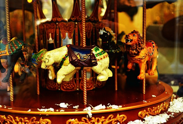 Carousel Merry-go-round Magnetisms Decoration Beau